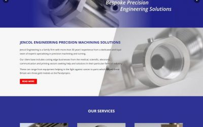 Jencol Engineering launches new custom website